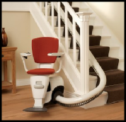 Flow 2 Reconditioned Curved Stairlift South Wales